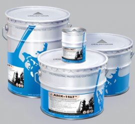 Цинкнаполненная антикоррозийная грунт-краска АХСК-1467